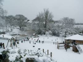 Farhana Hoque 'Last Snow on Telegraph Hill -2013'