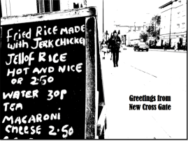 Stephen Carrick-Davies Greetings from New Cross Plate'