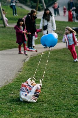 Sweyn Hall 'Balloons in the park'